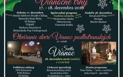 Aj v Štrbe zaznie atmosféra Vianoc s tradičnou zabíjačkou a bohatým kultúrnym programom!